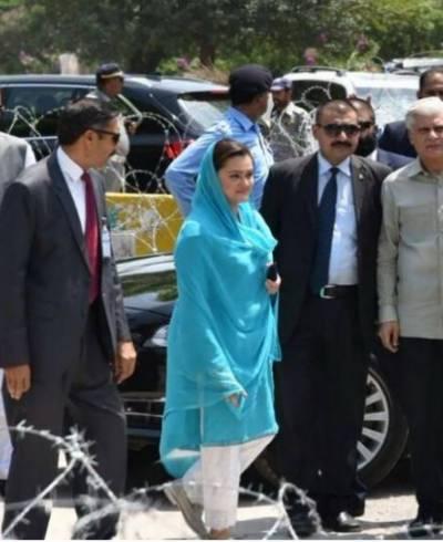 عمران خان آج بھی جھوٹ بولنے سے بعض نہیں آئے۔مریم نواز صاحبہ کسی سرکاری پروٹوکول میں جے آئی ٹی میں نہیں آئیں : مریم اورنگزیب