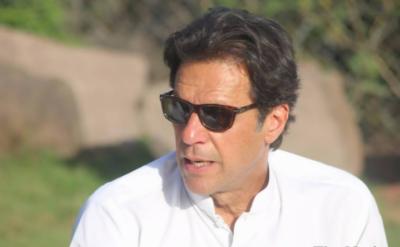 چیئرمین تحریک انصاف عمران خان نے وزیراعظم اور وزیراعلیٰ پنجاب کے استعفوں کے ساتھ وزیرخزانہ اسحاق ڈار اورسپیکر قومی اسمبلی کے بھی فوری استعفیٰ کا مطالبہ کردیا