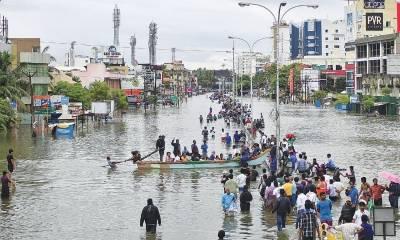 مون سون بارشوں نے ملک بھر میں تباہی مچا دی