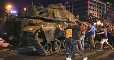 ترکی میں ناکام بغاوت کو ایک سال مکمل ہو گیا