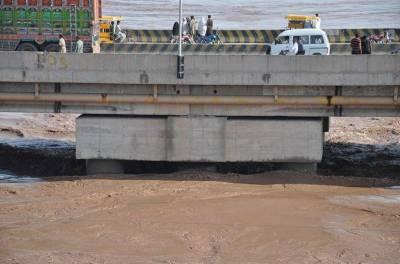 دریائے چناب میں ہیڈمرالہ کے مقام پر نچلے درجے کا سیلاب