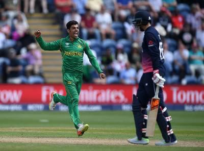 چیمپئنز ٹرافی میں سب سے بڑا خوشی کاموقع جو روٹ کی وکٹ لینا تھا۔ شاداب خان