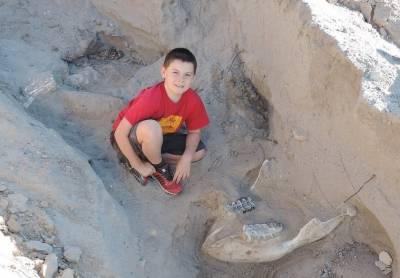10سالہ بچے نے 12 لاکھ سال پرانی باقیات دریافت کرلیں۔