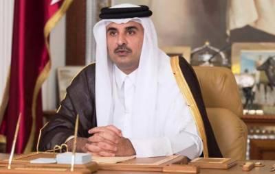 قطر کے امیر عرب ممالک کے ساتھ مذاکرات کے لیے تیار