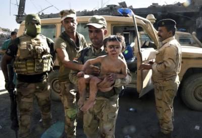 موصل میں داعش کے خلاف آپریشن، چیچنیا کے بچے بازیاب