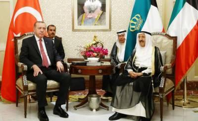 ترک صدر قطر تنازعہ کے حل کیلئے سرگرم ہوگئے۔