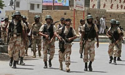 کراچی اورنگی ٹاون پولیس اور رینجرز نے سرچ آپریشن کے دوران 40مشتبہ افراد کو حراست میں لے لیا