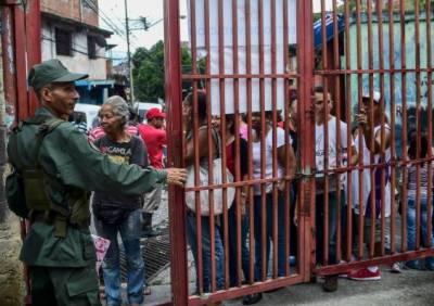 وینزویلا میں کئی ماہ سے جاری مظاہروں میں شدت تب آئی جب نئی قانون ساز اسمبلی کیلئے انتخابات شروع ہوئے
