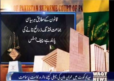 سماعت شروع ہوئی تو چیف جسٹس ثاقب نثار نے عمران خان کے وکیل انور منصورسے استفسار کیا