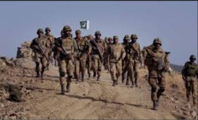 ایف سی نے بلوچستان کے علاقے ڈیرہ بگٹی میں دہشت گردوں کے دو ٹھکانے تباہ کردیئے