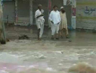 طوفانی بارش نے پنجاب کے مختلف علاقوں میں تباہی مچا دی،ندی نالے بپھرنے لگے