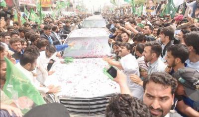 سابق وزیراعظم نواز شریف کی ریلی پر ٹریفک کی روانی برقرار رکھنے کےلیے ٹریفک پلان جاری کردیا گیا