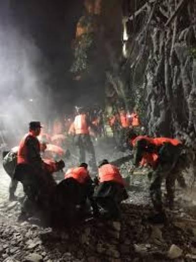 زلزلے کے نتیجے میں ہزاروں افراد زخمی