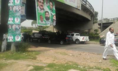سابق وزیراعظم نواز شریف کا کارروان جمعہ کو لاہور پہنچے گا