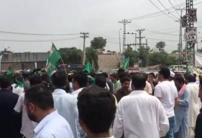 نواز شریف کی نااہلی کے بعد ایک بڑی ریلی کی صورت میں لاہور واپسی کا اعلان کیا گیا