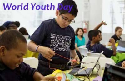 اقوام متحدہ نے انیس سو اٹھانوے میں پہلی بار عالمی یوم نوجوانان منانے کی منظوری دی