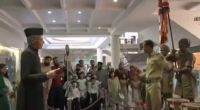 یوم آزادی پر پاک فوج کے میوزیم کو عوام کے لیے کھولا گیا. شہریوں کی بڑی تعداد نے میوزیم کا دورہ کیا