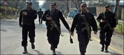 کراچی میں منگھو پیر کے علاقے میں سی ٹی ڈی نے خفیہ اطلاع پرچھاپامارا تو دہشت گردوں نے پولیس پر فائرنگ کردی