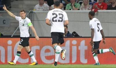 جرمنی میں کھیلے گئے میچ میں میزبان ٹیم نے شروع سے ہی عمدہ کھیل کا مظاہرہ کیا