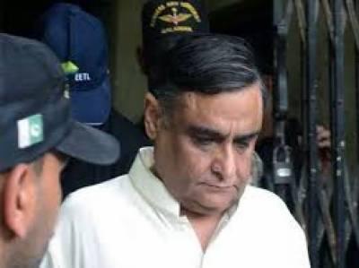 ڈاکٹر عاصم کی جانب سے درخواست سردار لطیف کھوسہ نے دائر کی