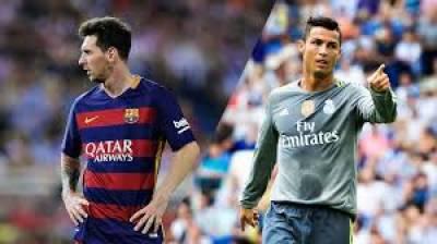 بارسلونا اور ریال میڈرڈ کے سپر سٹارمیسی اور رونالڈو ایک بار پھر آمنے سامنےہیں
