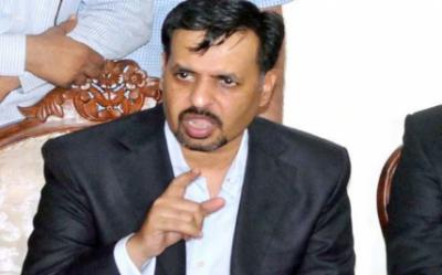 سربراہ پاک سرزمین پارٹی مصطفیٰ کمال کی کراچی میں میڈیا سے گفتگو