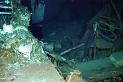 دوسری جنگِ عظیم میں سمندر میں ڈوبنے والے امریکی بحری جنگی جہاز 'انڈیناپولس' کو بہتر سال بعد تلاش کر لیا گیا ہے
