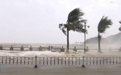 جنوبی چینی سمندر میں اٹھنے والا طوفان ہاٹو ہانگ کانگ اور میکاؤ سے ٹکرا گیا