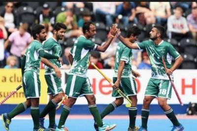 پاکستان ہاکی ٹیم نے ورلڈ کپ2018 کے لئے کوالیفائی کرلیا