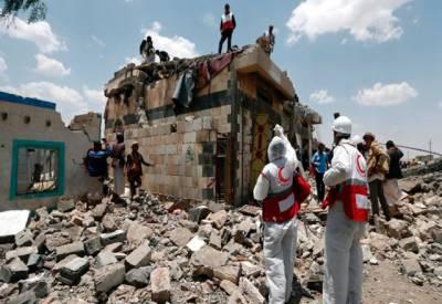 صنعا میں فضائی حملے،48ہلاک متعدد زخمی