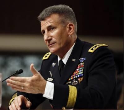 نئی افغان پالیسی ٹرمپ کے دہشتگردی کے خاتمہ کیلئے پرعزم ہونے کا ثبوت ہے, جنرل جان نکلسن