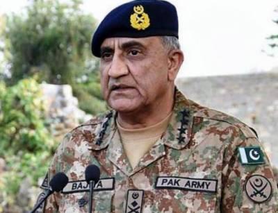 پاکستان میں دہشت گردوں کی کوئی محفوظ پناہ گاہ نہیں ہے, آرمی چیف جنرل قمر جاوید باجوہ