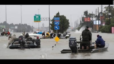 ٹیکساس میں طوفان ہاروی کی تباہ کاریوں کا سلسلہ جاری ،18افراد ہلاک