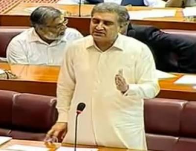 پاکستان کی پالیسی بہت واضح اور تسلسل کے ساتھ رہی ہے ،شاہ محمودقریشی