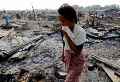 پاکستان روہنگیا مسلمانوں کے قتل کی تحقیقات کرانے کا مطالبہ کر دیا۔
