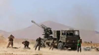 سرکاری ٹیلی ویژن کے مطابق فوجی صحرا میں تیزی سے پیش قدمی کرتے ہوئے شہر کے مغربی حصے سے تین کلومیٹر کے فاصلے پر پہنچ گئے ہیں