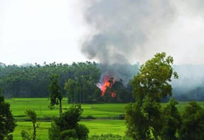 میانمار:2 دھماکوں اور فائرنگ میں خاتون سمیت متعدد روہنگیا مسلمان زخمی