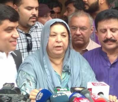 کسی امیدوار نہیں وفاقی اور پنجاب حکومت کیخلاف الیکشن لڑ رہی ہوں، یاسمین راشد
