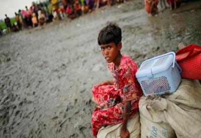 24 گھنٹے میں مزید 35 ہزار روہنگیا مہاجرین کی بنگلہ دیش آمد