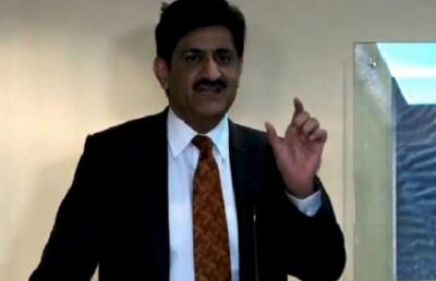 وزیراعلیٰ سندھ مراد علی شاہ نے مسرور بیس کراچی میں یوم دفاع پروگرام میں شرکت کی