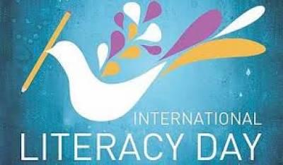 خواندگی کا عالمی دن اقوام متحدہ کے ذیلی ادارے یونیسیکو کے تحت ہر سال 8ستمبر کو منایا جاتا ہے