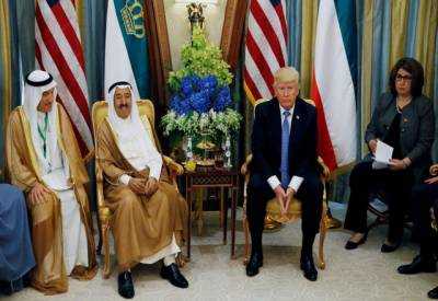 قطر اور عرب ممالک کا تنازع حل کرانے کیلئے کویت کے امیر کی ٹرمپ سے ملاقات