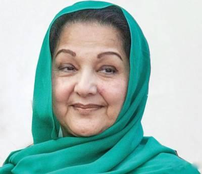 این اے 120 لاہور کے ضمنی الیکشن میں بیگم گلثوم 50 ہزار کی لیڈ سے کامیاب ہونگی۔ احسن منظور