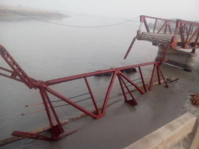 چار سدہ :دریائے کابل پر سردریاب کے مقام پر پل گرگیا