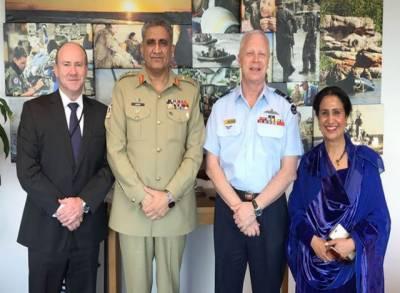 پاکستان اور آسٹریلیا کے درمیان باہمی تعلقات میں اضافے کے خواہاں ہیں۔ جنرل قمر جاوید باجوہ