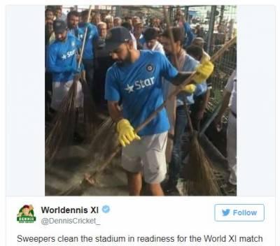 آسٹریلوی صحافی نے ویرات کوہلی کو خاکروب کہہ دیا۔