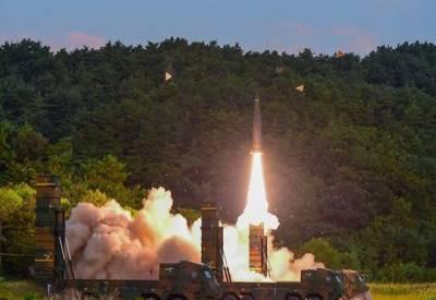 پابندیوں کے بعد شمالی کوریا نے بین البراعظمی میزائل فائر کر ڈالا۔