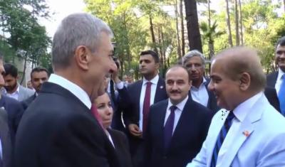وزیراعلیٰ پنجاب محمد شہبازشریفکی استنبول میں ترکی کے وزیر صحت ڈاکٹر احمت ڈیمر کن سے ملاقات