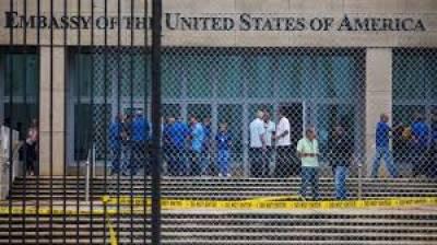امریکہ نے واشنگٹن میں کیوبا کے سفارت خانے کے 15 اہل کاروں کو ملک سے چلےجانے کا حکم دیا گیا ہے