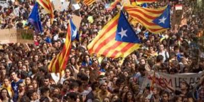 سپین کی ریاست کاتالونیا میں آزادی ریفرنڈم کے بعد سے حالات تاحال کشیدہ